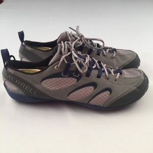 21c808b488f Merrell Mens Trainers Shoes Blue Size 11.5